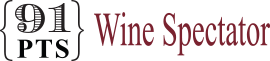 91 points - Wine Spectator